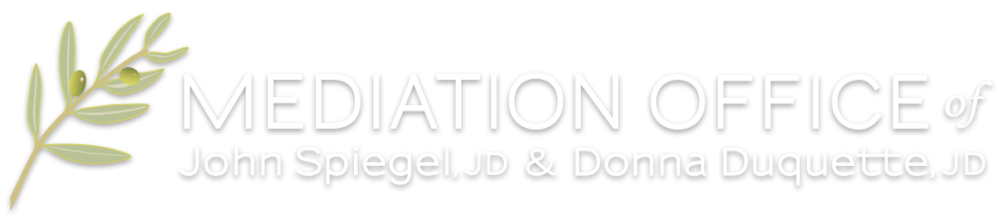 Mediation Office of John Spiegel, JD & Donna Duquette, JD
